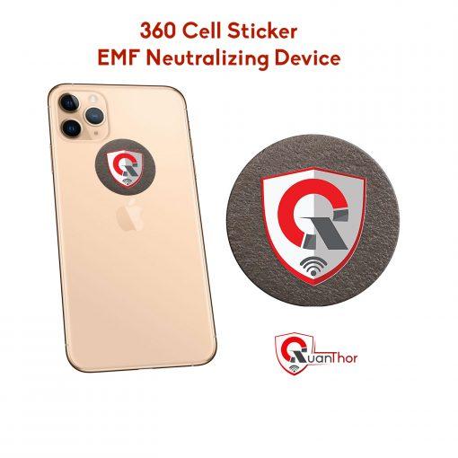 EMF neutralizer anti radiation shield for phone, laptop, ipad