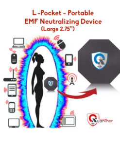 L-Pocket EMF Radiation Neutralizer QUANTHOR